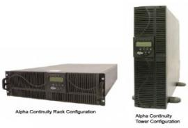 Alpha Technologies Continuity 1000 2000 3000 UPS emergency power, power protection, 6000, 10000, 120VAC, 208VAC, 240VAC