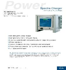 Alpha Technologies Spectra 120VDC 125VDC 130VDC Power Supply, Industrial Battery Charger Brochure