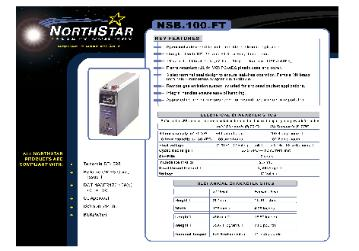 NorthStar Gray NSB Front Terminal Deep Cycle 12 Volt Communiction DC Batteries